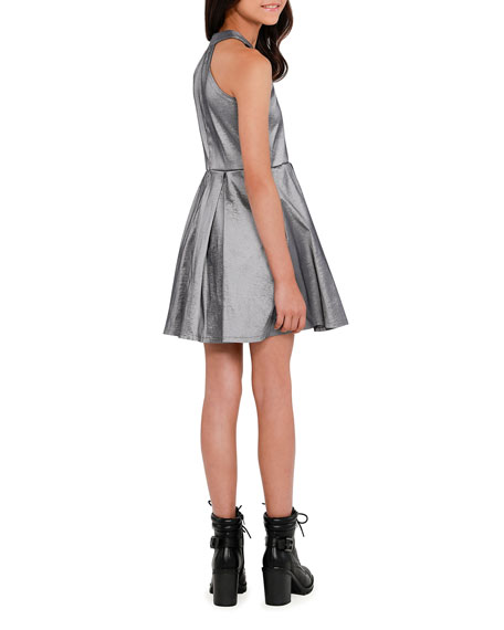 Sally Miller The Platinum Pocket Halter Dress, Size S-XL