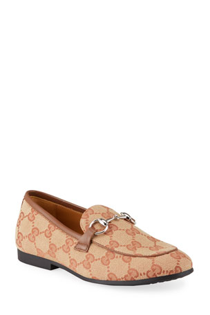 Gucci GG Canvas Loafers, Toddler/Kids