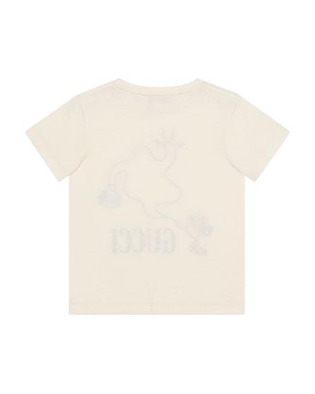 Gucci Boy's Genie Short-Sleeve Graphic T-Shirt, Size 4-12