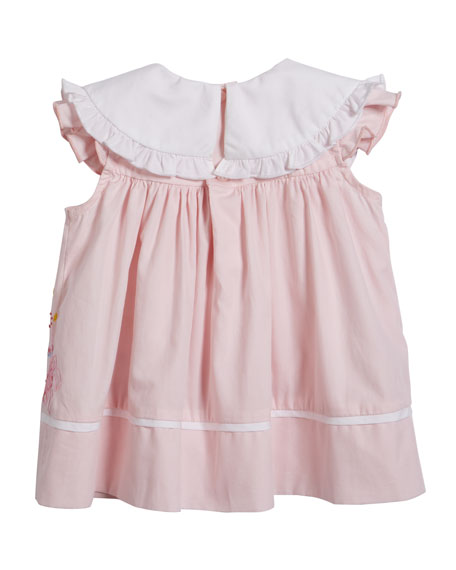 Luli & Me Birthday Dress with Bloomers, Size 12-24 Months