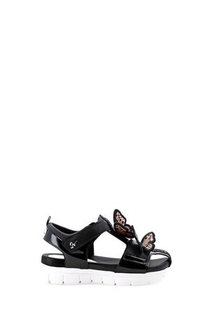 Sophia Webster Riva Wavy 3D Butterfly Sandals, Baby/Toddler/Kids