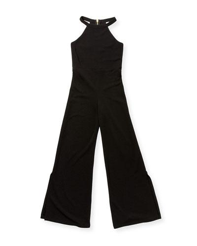 Girl's The Jenny Halter Split Leg Jumpsuit  Size S-XL