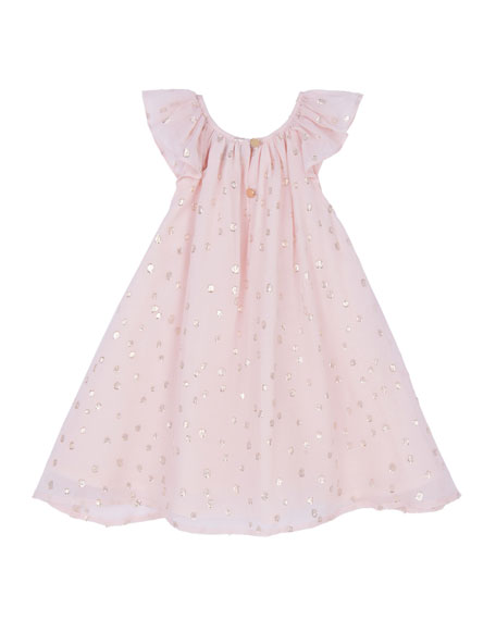 Image 2 of 2: Velveteen Girl's Harper Party Dress, Size 3-24 Months