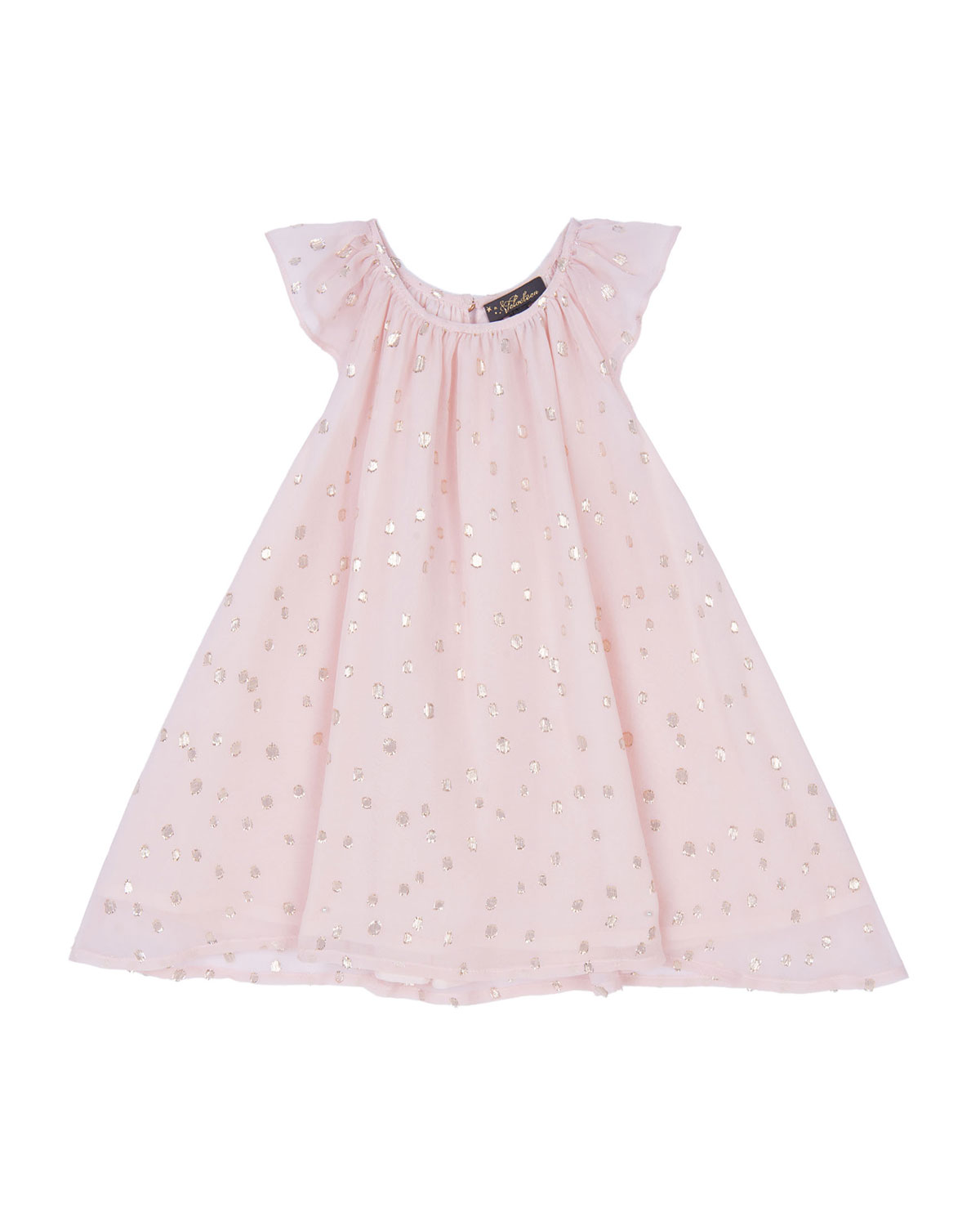 Velveteen Girl's Harper Party Dress, Size 3-24 Months