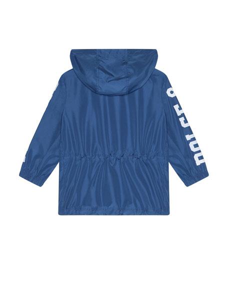 Dolce & Gabbana Boy's Summer Smile Logo Parka, Size 8-12