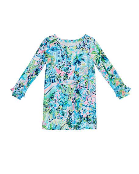 Lilly Pulitzer Mini Sophie UPF 50+ Ruffle Dress, Size XS-XL