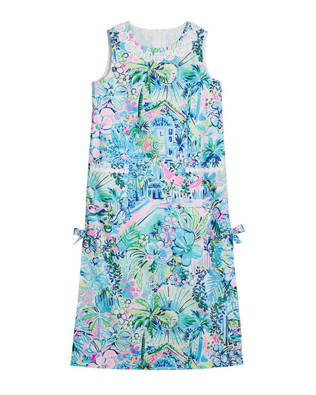 Lilly Pulitzer Little Lilly Classic Maxi Dress, Size 2-10