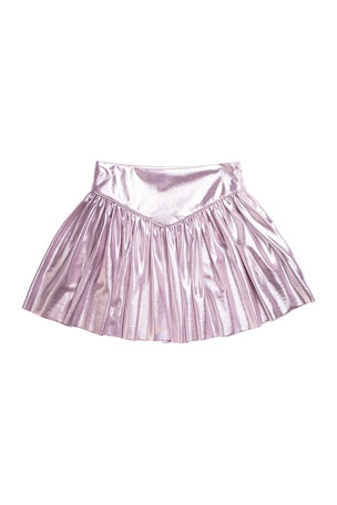 Imoga Girl's Metallic Skirt, Size 2-6