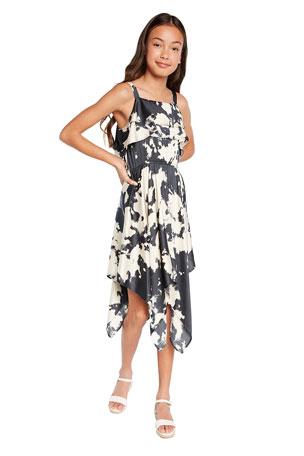 Ex High Street Store Jersey /& Cotton Sleeveless Dress for Girl/'s Matching Pants