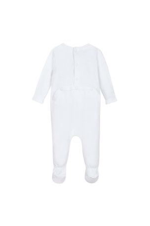 Black Border T-Shirt Romper Two In Love Unisex Baby White Bowtie Black, 24 Months