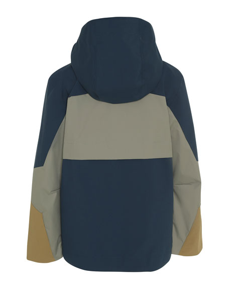 Molo Kid's Hakon Colorblock Lightweight Jacket, Size 4-12
