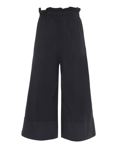 Image 3 of 3: Girl's Alta Wide-Leg Solid Pants, Size 6-16