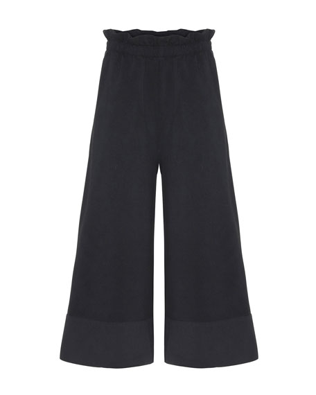 Image 1 of 3: Girl's Alta Wide-Leg Solid Pants, Size 6-16
