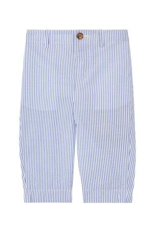 Burberry Boy's Manuel Striped Seersucker Pants, Size 12M-2