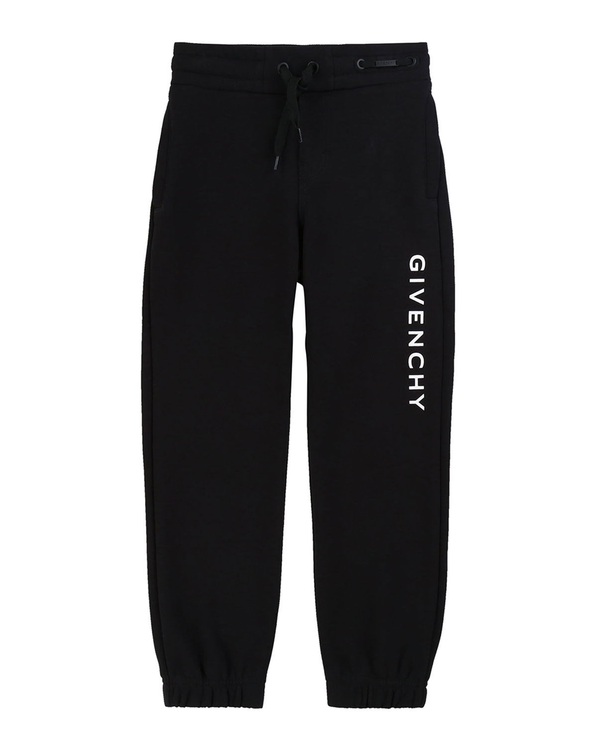 Givenchy Boy's Logo Mini Me Sweatpants, Size 12-14