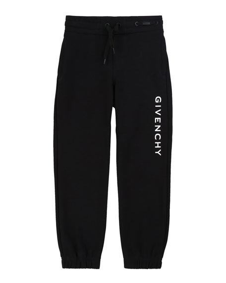Givenchy Boy's Logo Mini Me Sweatpants, Size 4