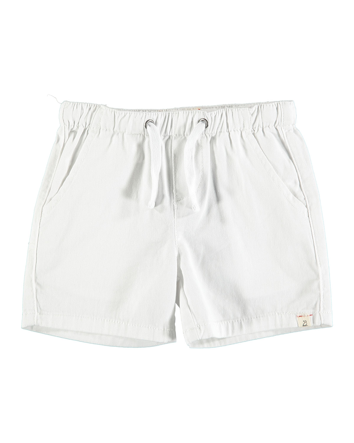 Me & Henry Boy's Drawstring Twill Shorts w/ Children's Book, Size 12-24 Months