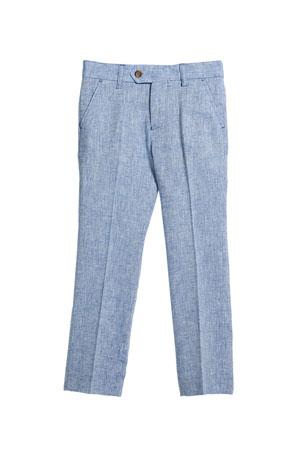 Appaman Slim Suit Pants, Blue, Size 2-14