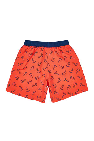 Unisex Boys Girls Watermelon Slices Fruit Beach Shorts Surfing Swim Wear Quick Dry Boardshorts