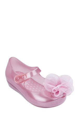 Baby Princess Shoes Infant Girl Shoes With 3 Color Small Hair Ball
