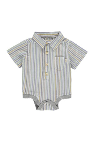 Me & Henry Boy's Multi Stripe Bodysuit w/ Children's Book, Size 0-24 Months