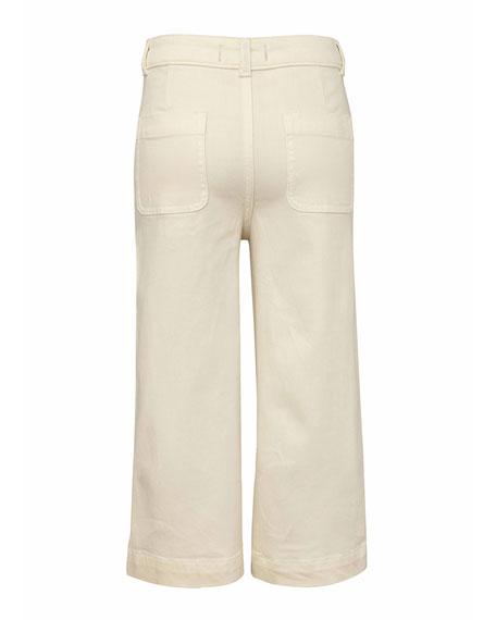 DL1961 Premium Denim Girl's Lily Wide-Leg Pants, Size 7-16