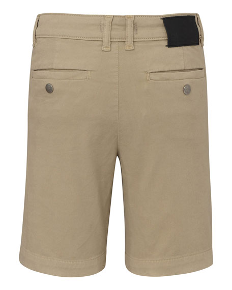 DL1961 Premium Denim Boy's Jacob Twill Chino Shorts, Size 8-14