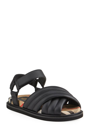 Burberry Clangley Sandals, Toddler/Kids