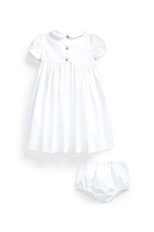 Baby Boy/'s Hand Smocked 3 Piece Gift Set Boat Bib Blanket /& Babygrow New Shower