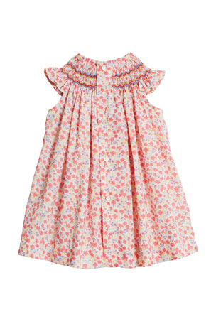 Mayoral Baby Girl 0M-12M Cap Sleeve Embroidered Dress