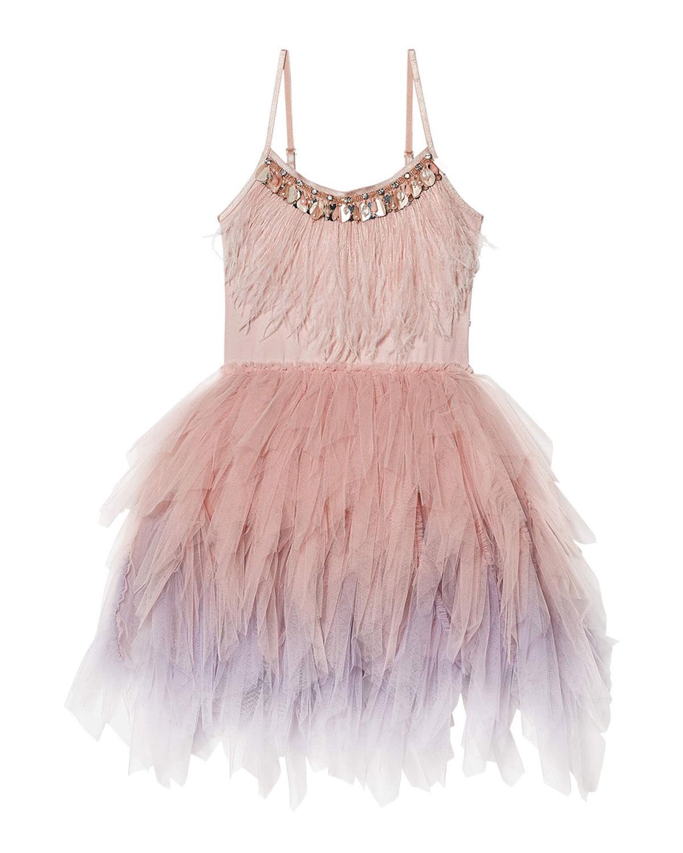 tutu du monde Swan Queen Tutu Dress Size 10-11 Blush/Nude