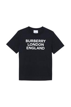 Burberry Boy's BLE Logo T-Shirt, Size 3-14