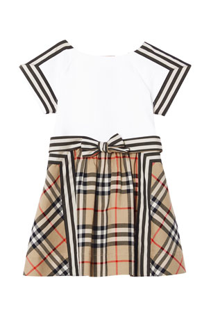 Burberry Rhonda Cotton Dress, Size 12M-2