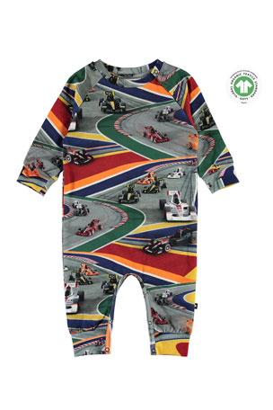 Molo Fairfax Full Speed Printed Coverall, Size 3-12 Months