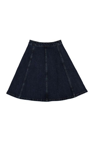 Molo Girl's Bellatrixi Denim Skirt, Size 3T-16