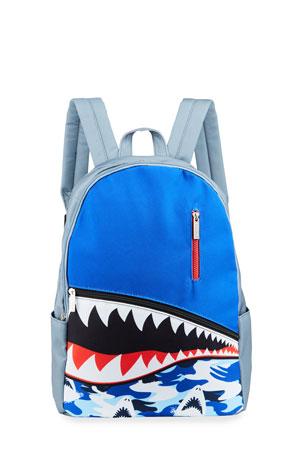 Iscream Boy's Shark Teeth Backpack
