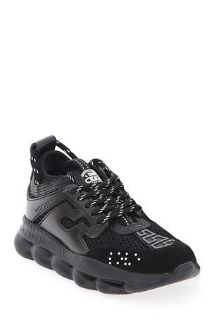 Versace Chain Reaction Chunky Sneakers, Toddlers