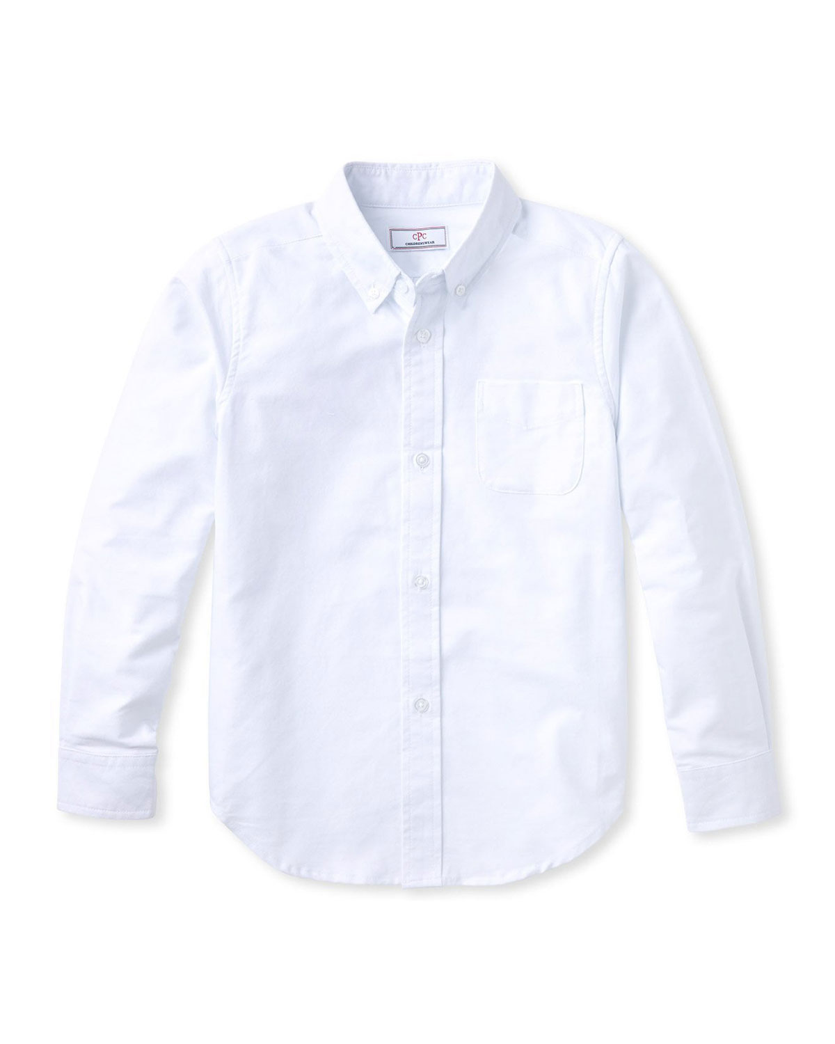 Classic Prep Childrenswear Boy's Owen Cotton Button-Down Shirt, Size 2-14