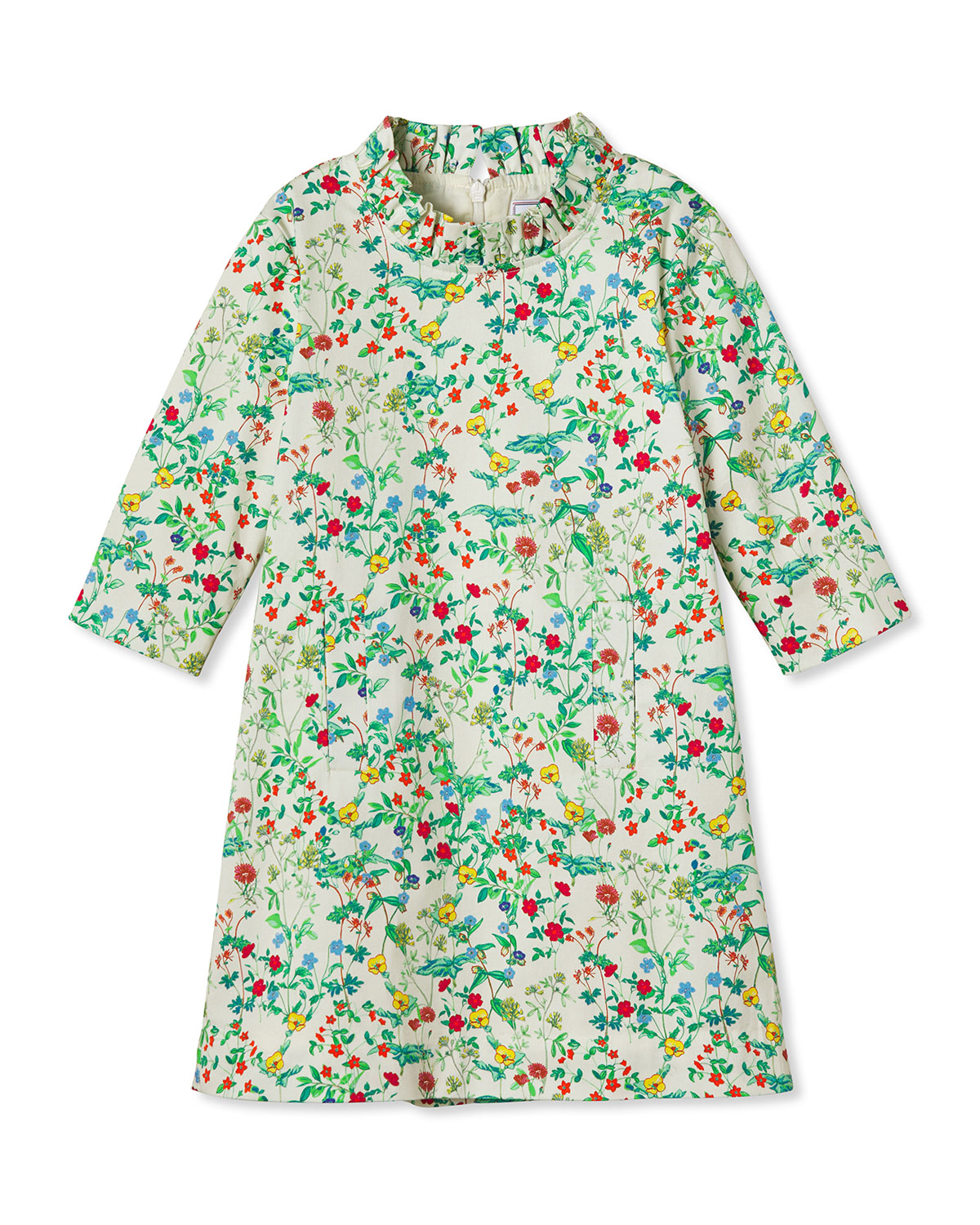 Classic Prep Childrenswear Girl's Claudia Ruched Floral Dress, Size 5-14