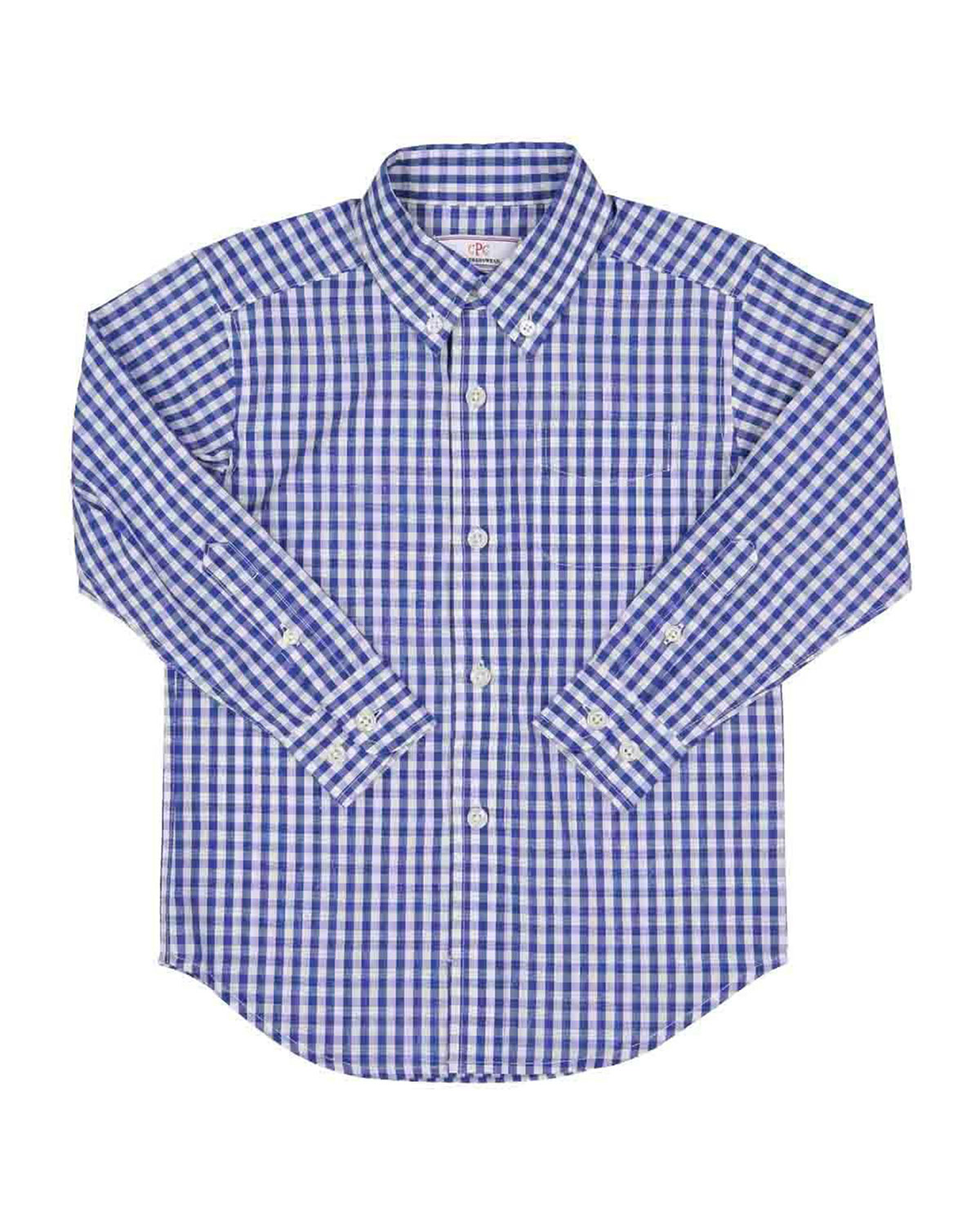 Classic Prep Childrenswear Boy's Owen Gingham Button-Down Shirt, Size 2-14