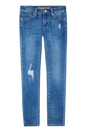 Joe's Jeans Girl's Markie Distressed Denim Skinny Jeans, Size 7-16