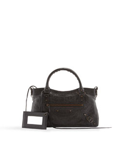Balenciaga Classic First Tote Bag, Black