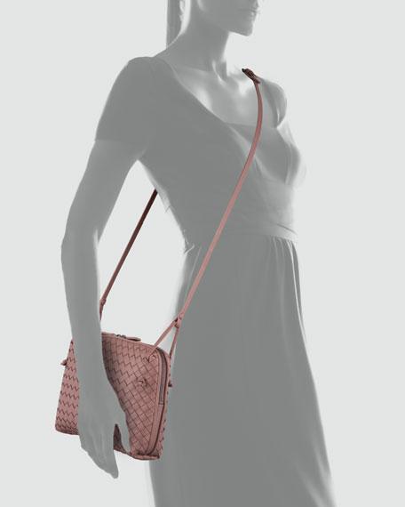 Veneta Small Crossbody Bag, Mauve