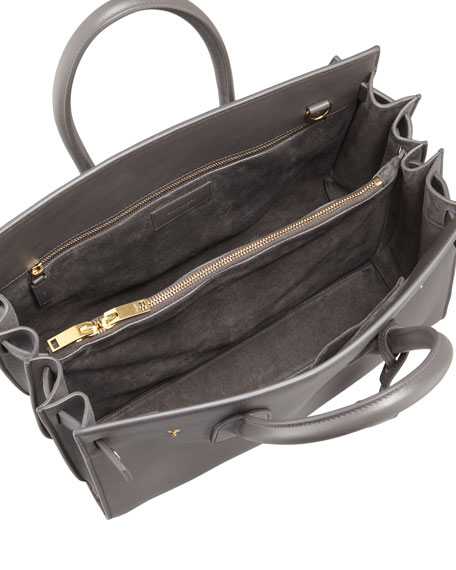 Image 2 of 2: Sac de Jour Small Carryall Bag, Gray