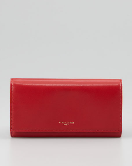 Marquage Continental Wallet, Rouge
