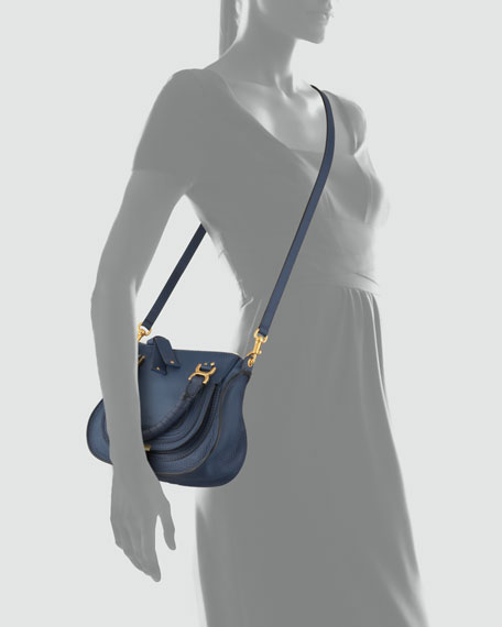 Marcie Mini Shoulder Bag, Royal Blue