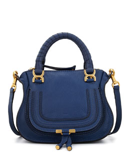 Chloe Marcie Mini Shoulder Bag, Royal Blue