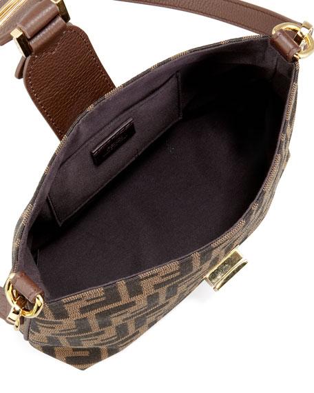 Mini Zucca Canvas Hobo Bag