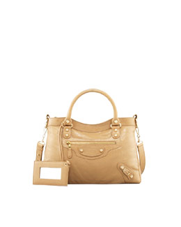 Balenciaga Giant 12 Golden Town Bag, Beige