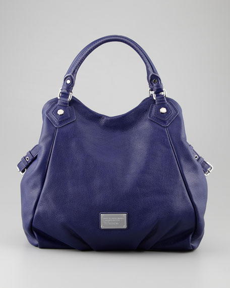 Classic Q Fran Tote Bag, Electric Blue
